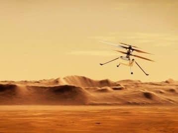 Mais um? Helicóptero Ingenuity vai fazer 11º voo em Marte