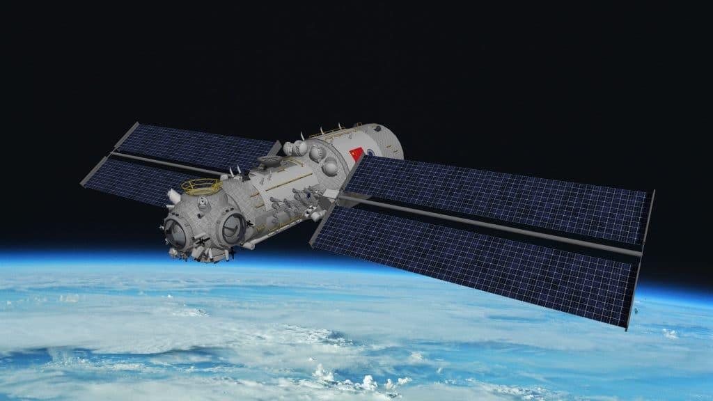 El cohete chino Long March 5B tomó el núcleo de la estación espacial china