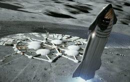 """Dragon XL pode virar """"cabine"""" para astronautas em estação espacial na Lua"""