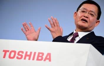 El CEO de Toshiba renuncia después de ofrecer comprar CVC Capital