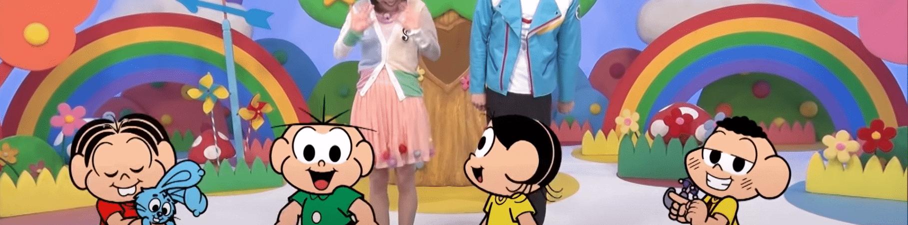 'TURMA DA MÔNICA' GANHA EXIBIÇÃO EM PROGRAMA INFANTIL JAPONÊS. Imagem: Kids Station TV/Reprodução