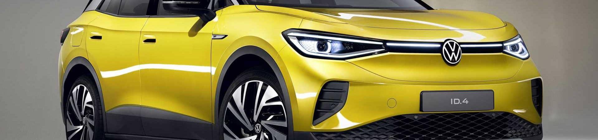 Com foco em carros elétricos, tipo o ID.4, a Volkswagen vai aumentar a produção de baterias. Imagem: Divulgação
