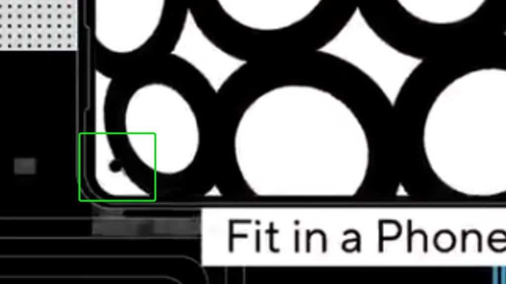 Imagem mostra detalhe do Zenfone 8, que pode não trazer uma câmera flip, mas sim voltar com design de lente frontal