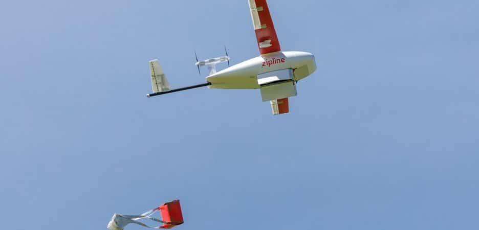 Los drones están entregando la vacuna contra el Covid-19 en África
