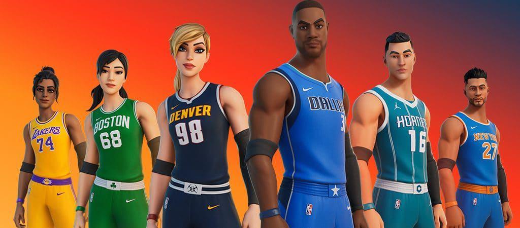Fortnite no NBA