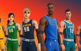 Fortnite ganha uniformes especiais em parceria com a NBA