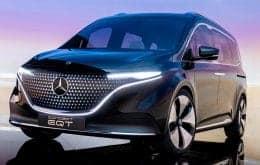 Mercedes-Benz anuncia minivan elétrica EQT