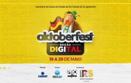 Oktoberfest Digital começa nesta quarta-feira (19) via YouTube e Facebook