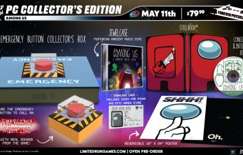 'Among Us' wins collector's edition with real button for emergency meeting