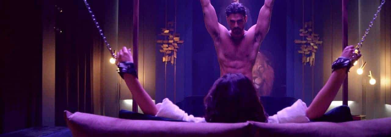 Scene from the erotic film '365 days'. Image: Netflix / Playback