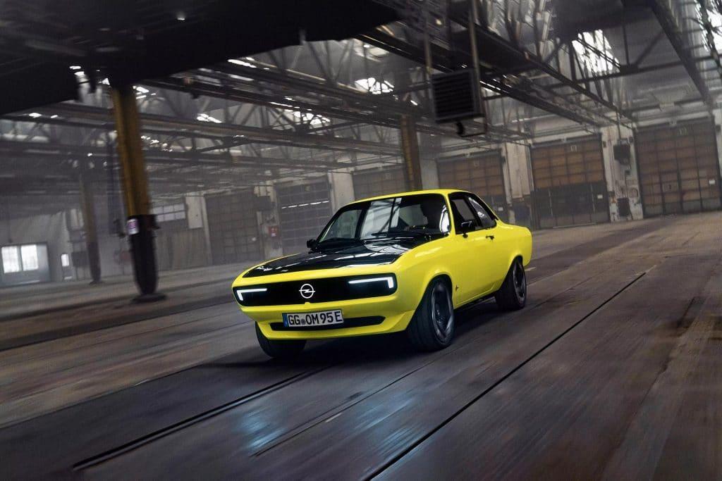 """""""Chevette elétrico"""" é lançado pela Opel. Imagem: Opel/Divulgação"""