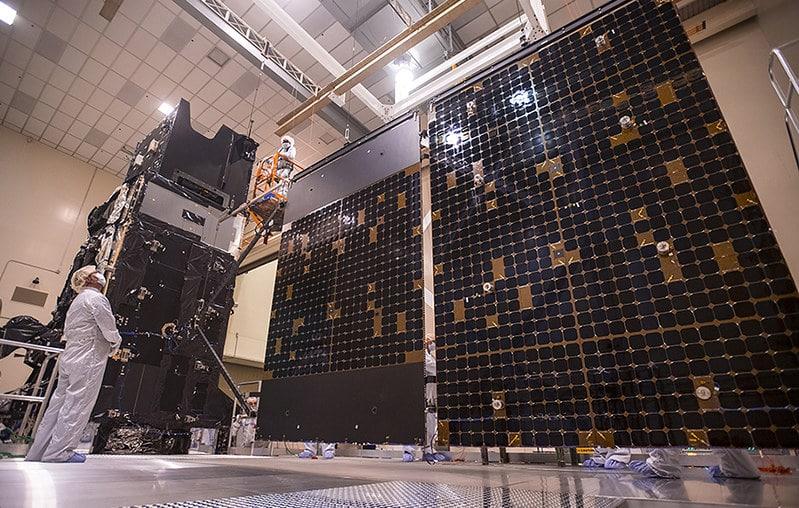 satélite geo-5 mísseis eua