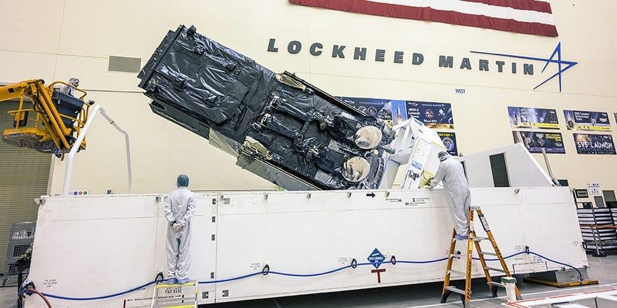 satélite eua mísseis