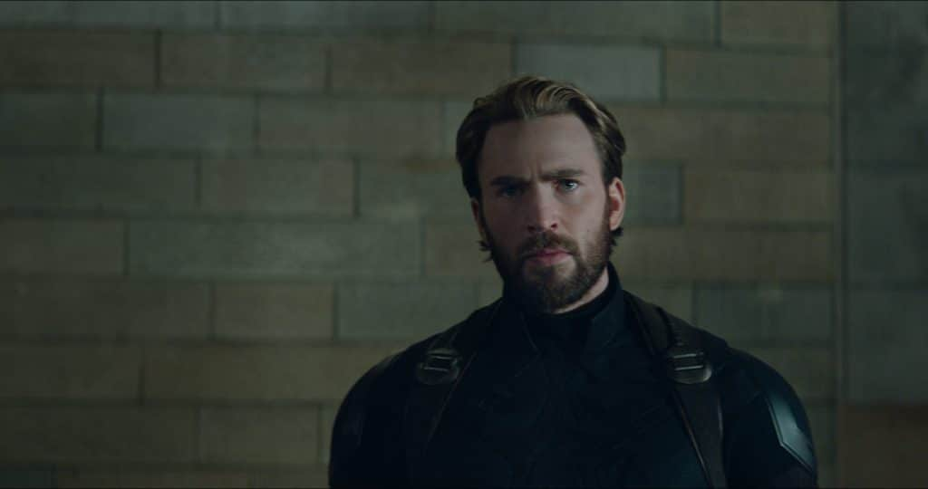 Steve Rogers faz entrada icônica em 'Guerra Infinita'. Imagem: Marvel Studios/Divulgação