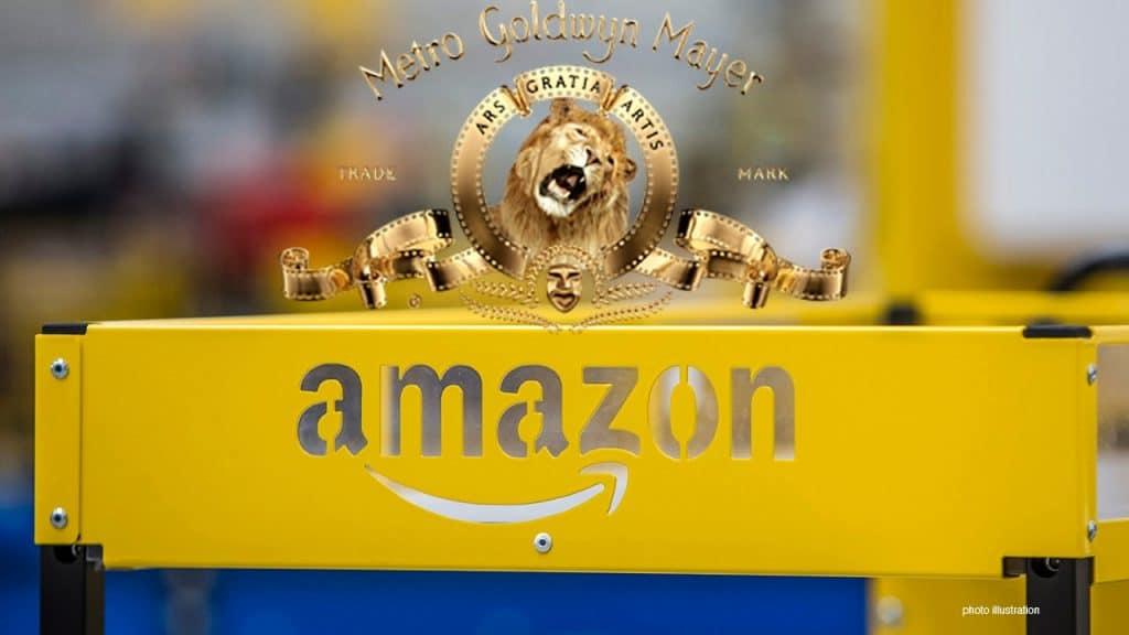 Amazon avalia comprar estúdio de cinema MGM por até US$ 9 bilhões, dizem sites. Imagem: Montagem/Fox Business/Reprodução