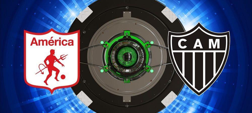 Escudos de América de Cali x Atlético-MG