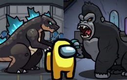 Como jogar o modo 'Godzilla vs Kong' em 'Among Us'