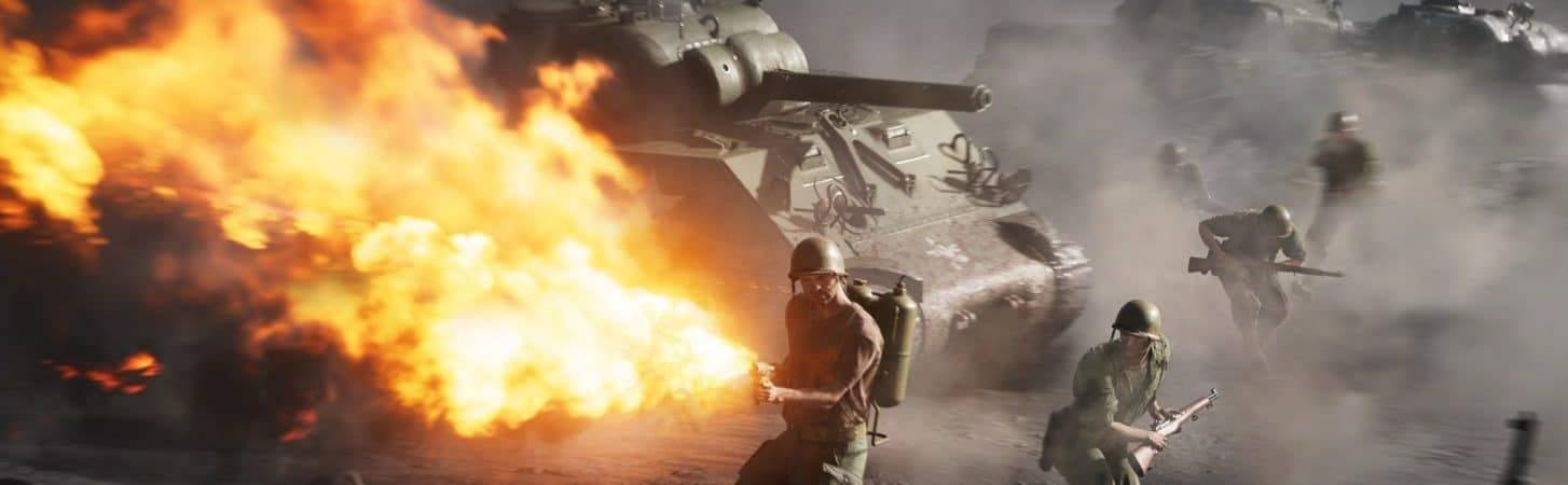 Imagem do jogo Battlefield 5