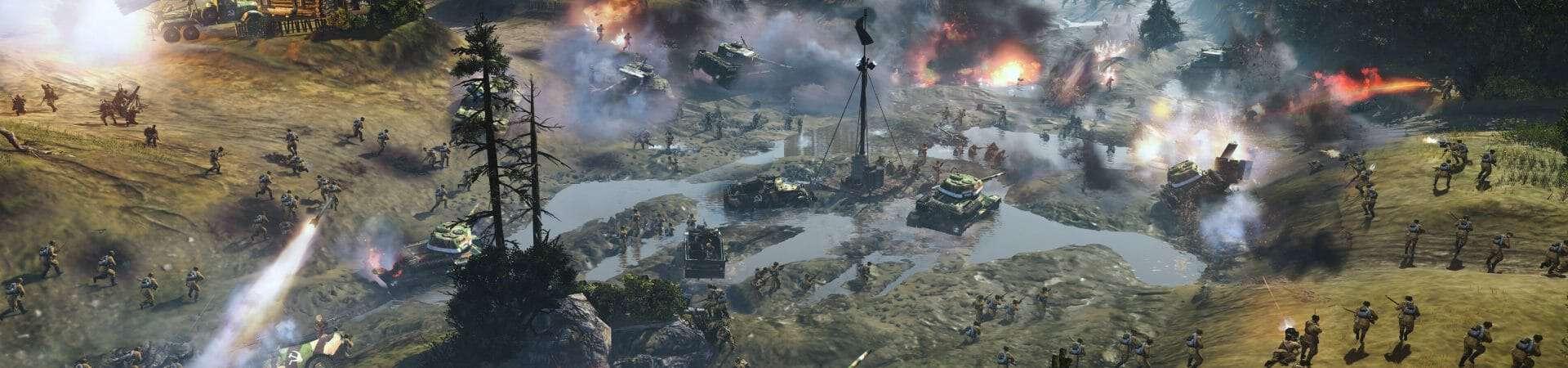 Cenário de batalha de Company of Heroes 2