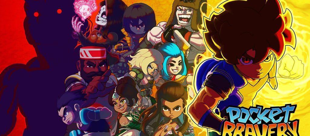 Material de divulgação de Pocket Bravery exibe personagens do jogo.