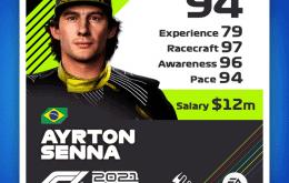 F1 2021 Digital Deluxe anuncia Ayrton Senna e Felipe Massa no game