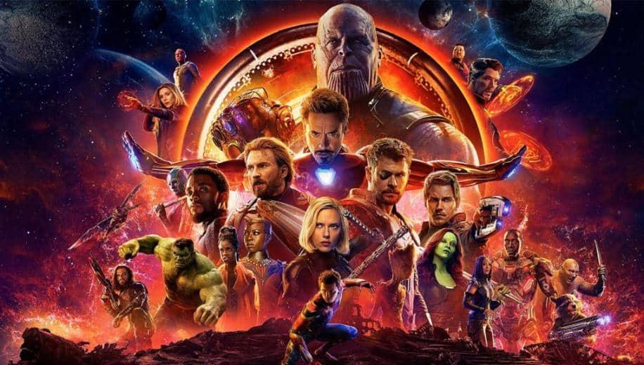 Cartaz oficial de 'Vingadores: Guerra Infinita'. Imagem: Marvel Studios/Divulgação