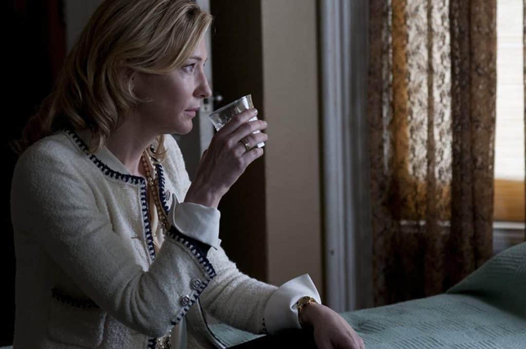 Cate Blanchett em Blue Jasmine
