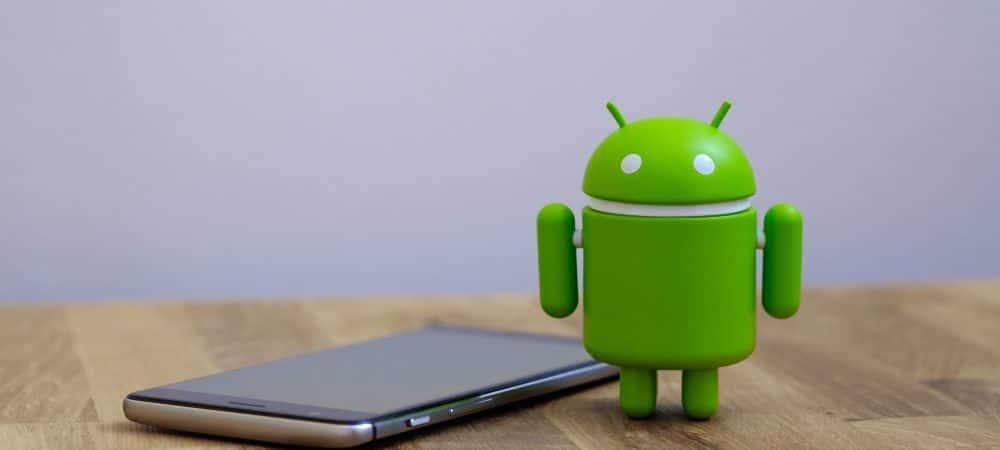 Celular ao lado do símbolo do Android