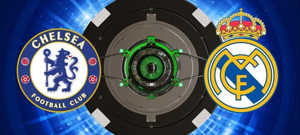 Escudos de Chelsea x Real Madrid