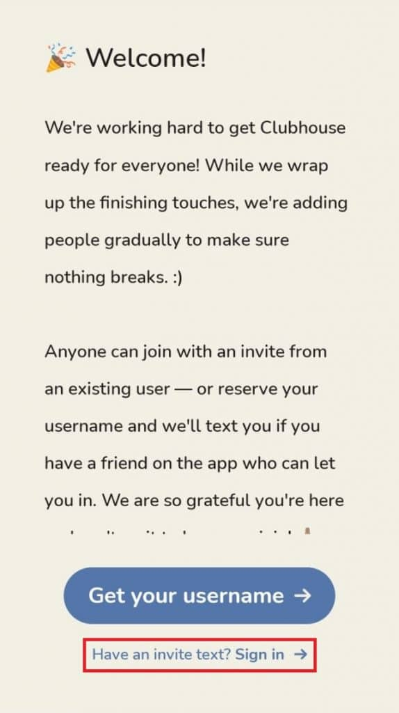 Fazendo o acesso no app