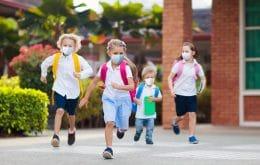 Apenas 40% das crianças adotam medidas contra a Covid-19, revela pesquisa