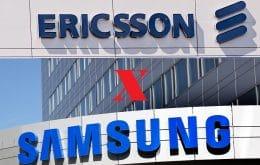 Disputa judicial: Ericsson e Samsung fecham acordo sobre uso de patentes