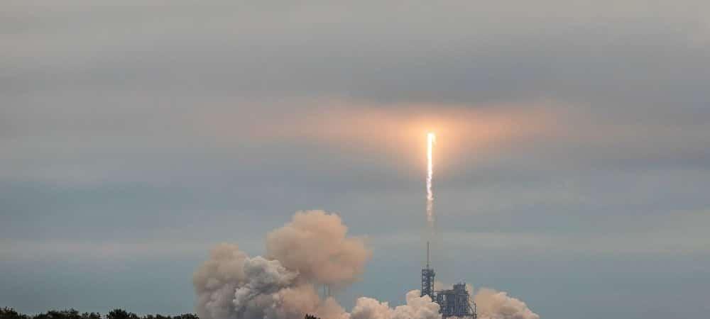 Lançamento defoguete Falcon 9, da SpaceX