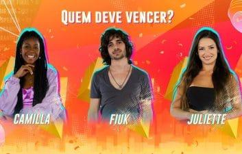 BBB 21 final: cómo votar por Camilla de Lucas, Fiuk o Juliette