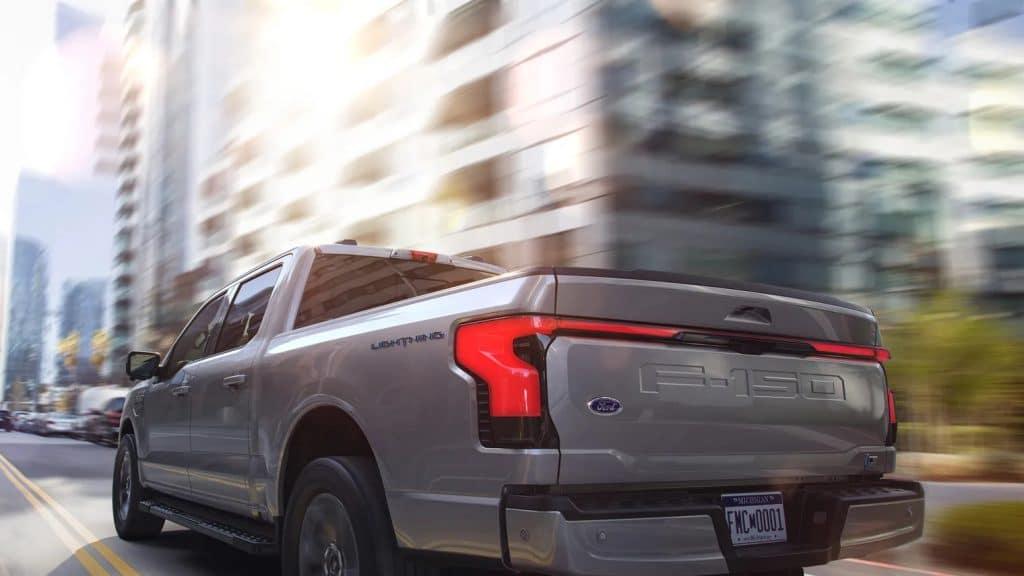 Ford revela sua primeira picape elétrica, a F-150 Lightning. Imagem: Ford/Divulgação