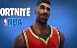 Dois pontos: Fortnite se une à NBA e leva a emoção do basquete para o game
