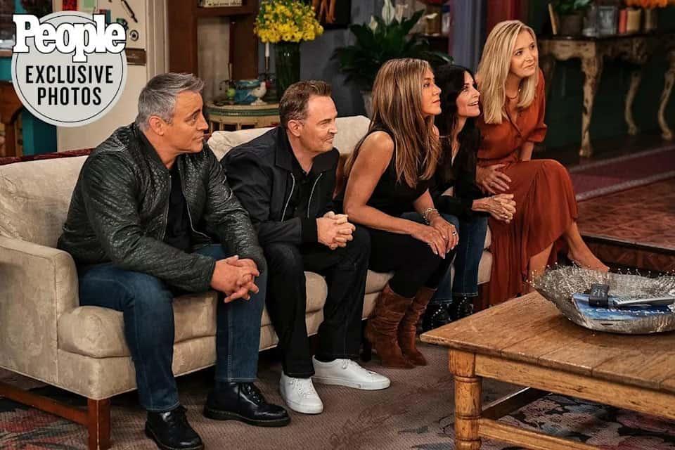 Friends: Veja as primeiras fotos e detalhes da reunião do elenco da série. Imagem: People Magazine/Divulgação