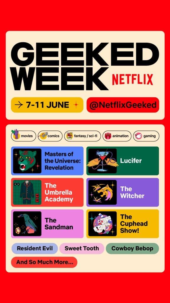 Primeira Semana Geek da Netflix: fãs aguardam novidades de 'The Witcher'. Imagem: Divulgação