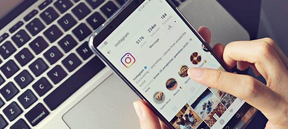 Instagram. Imagem: Shutterstock