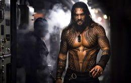 Jason Momoa começa a filmar 'Aquaman 2' e vai pintar o cabelo para o herói
