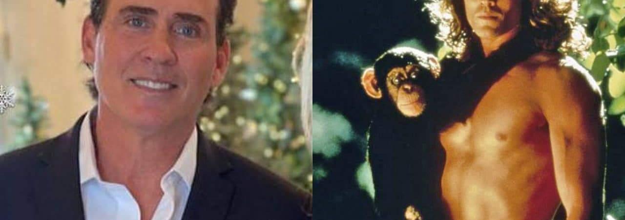 Joe Lara, ator de 'Tarzan', morre em queda de avião com esposa e mais cinco passageiros. Imagem: Montagem/Olhar Digital