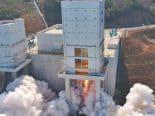 Primeiro foguete espacial da Coreia do Sul não consegue colocar a carga em órbita