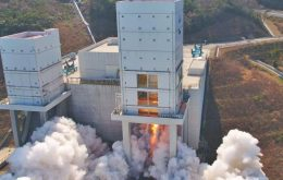 Esta vez no: el cohete surcoreano no logra poner el satélite en órbita
