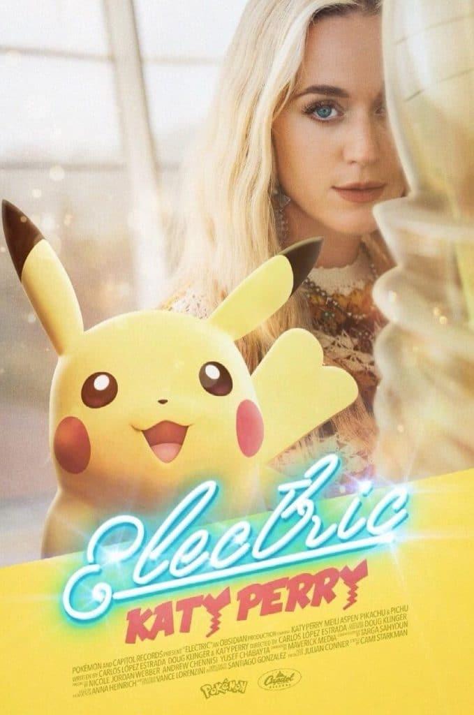 Katy Perry e Pikachu em teaser de música dedicada aos 25 anos de Pokémon