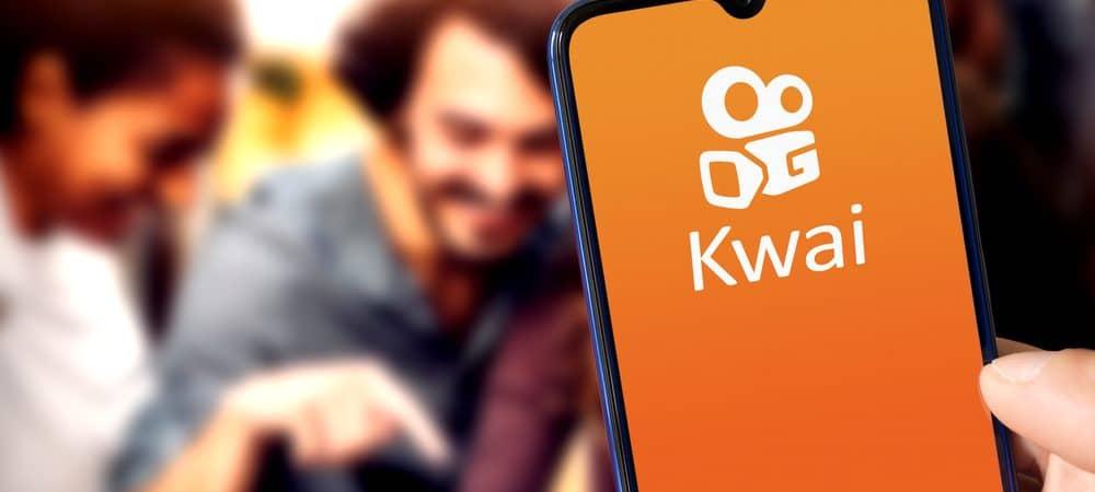 Logo do aplicativo Kwai
