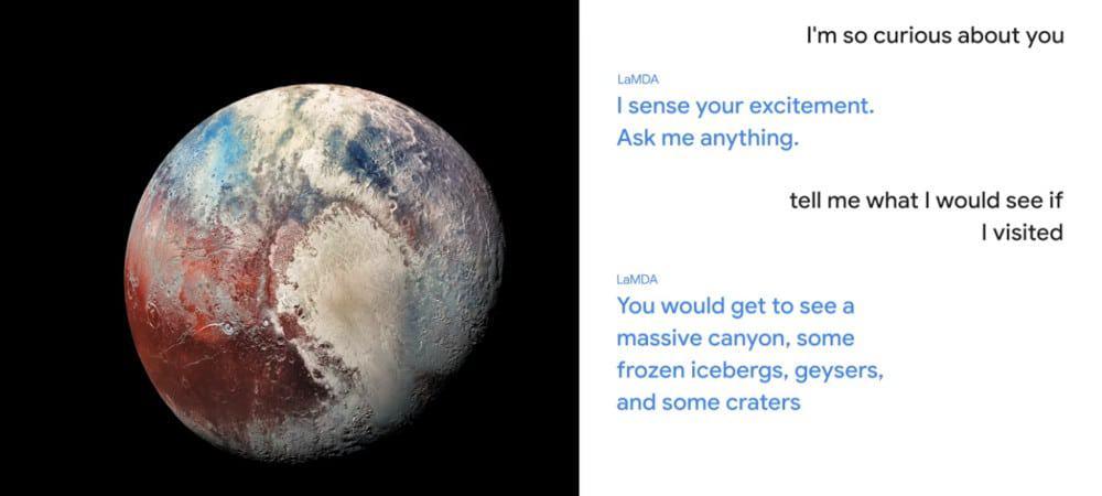 Conversa com LaMDA, modelo de IA do Google