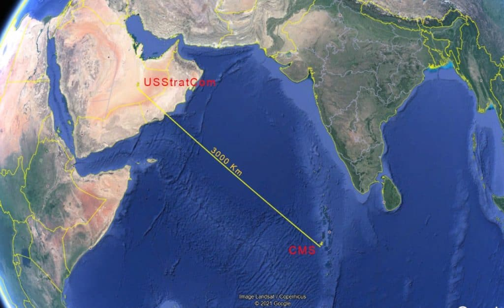 Localização da queda do foguete chinês é divergente