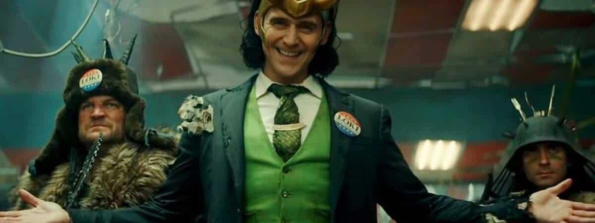 Estreia de Loki é adiantada em dois dias, revela Tom Hiddleston em vídeo. Imagem: Marvel Studios/Divulgação