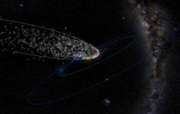 Chuva de meteoros é conectada a cometa visto a cada 4 mil anos
