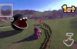 'Mario Kart' da vida real é possível, caso tenha um drone e habilidades com CGI